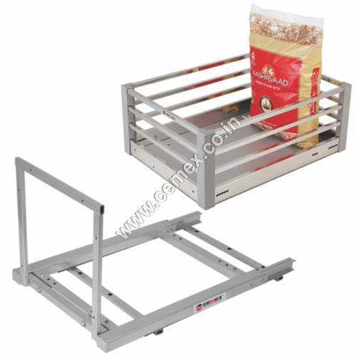 SS ACP Cutlery Kitchen Basket and Grain Trolley