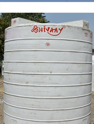 7500 plastic water storage tank