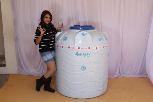 300 litre plastic water storage tank