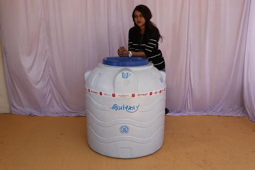 5000 litre plastic water storage tank