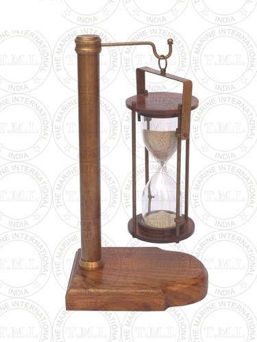 Hanging Sand Timer With Pole & base (5 Min)