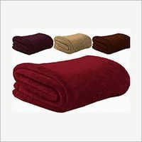 Plain Polar Fleece Blanket