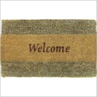 Printed Coir And Seagrass Doormat
