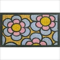 Floral Moulded Mat