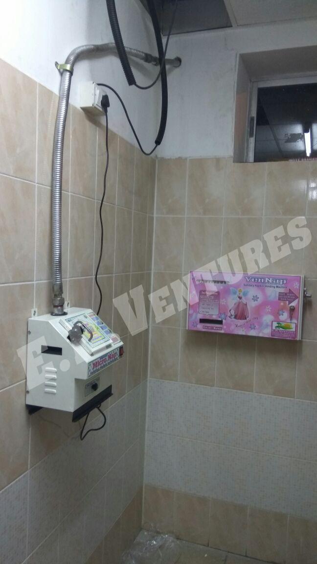 Sanitary Napkin Dispenser machines
