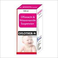 Ofloxacin & Nitaxonanide Suspension