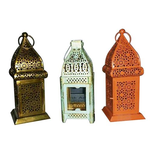 Moroccan Style Lattice Tealight Lantern