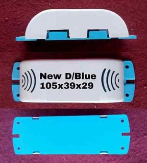 New D choke Cabinet white with blue