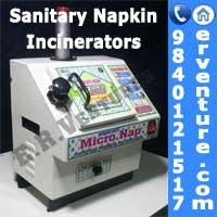 Home use Sanitary Napkin Incinerator Machines