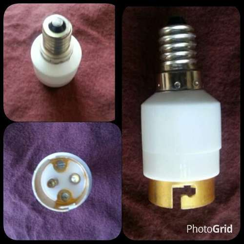 Adapter E14 to B22