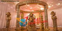 Golden Ganesha Mandap