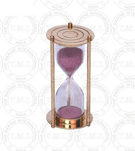 Nautical brass Sand Timer (3 Min)