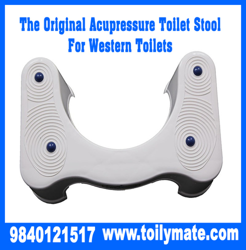 The Original Acupressure Toilet Stool for Western Toilets