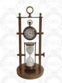 4 Inch Sand Timer With Watch (3 Min)