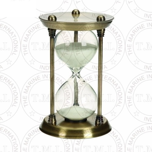 Antique Brass Sand Timer (15 Min)