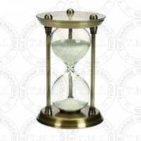 Antique Brass Sand Timer (15 Min)