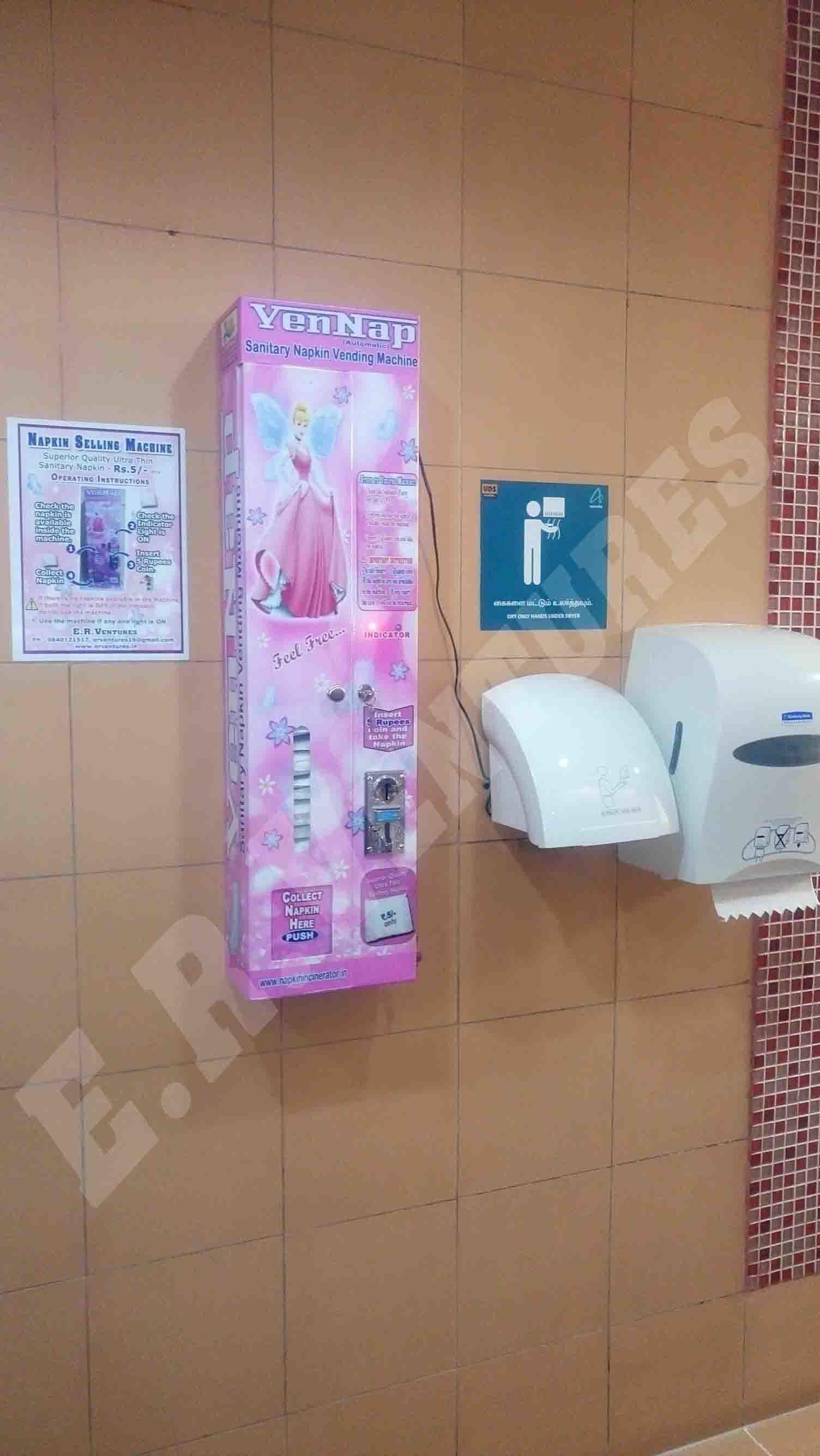 Sanitary Napkin Pad Dispensers