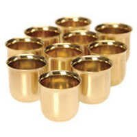 Brass Cup & Jars