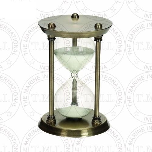 Brass Antique Nautical Sand Timer (30 Min)