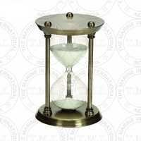 Brass Antique Nautical Sand Timer (30 Min)