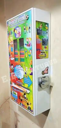 Coin Operated Pencil Vending and Dispenser machines