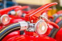Refilling Of Dcp Type Fire Extinguishers