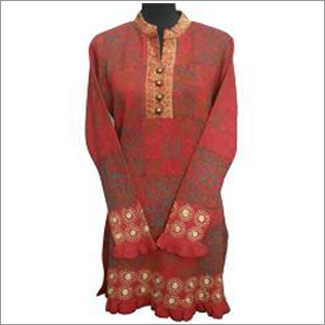 Ladies Woolen Long Kurti