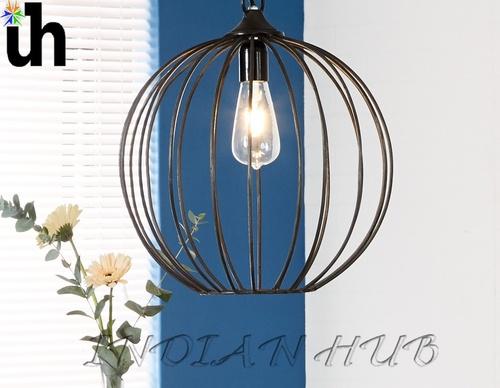 Hanging Lamp  Iron-Sphere