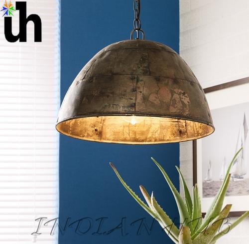 Hanging Lamp Iron Metalic