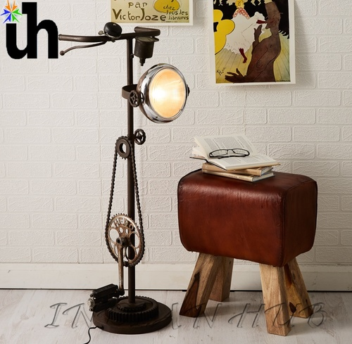 Floor Lamp Iron Cycle