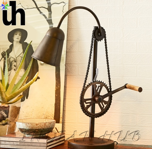 Lamp Stand Cycle Chain Table