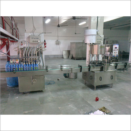 Fillling And Sealing Machine