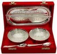 JARS SETS  AJANTA 6 SILVER AIR TIGHT
