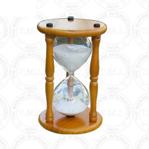 Wooden Marine Sand Timer (30 Min)