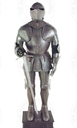 16th Century Aged FInish Full Suit Of Armour