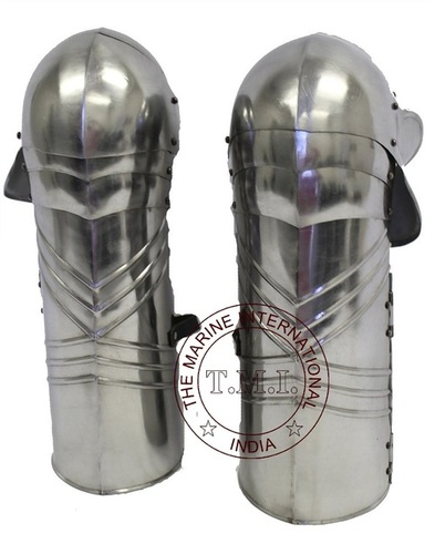 Full leg Steel Gothic Armour Medieval Knight Costume