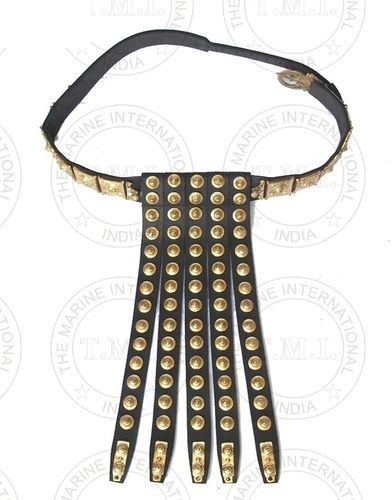 Roman Legion Brass & Leather Belt
