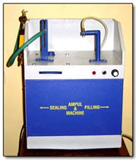 AMPULE FILLING & SEALING MACHINE