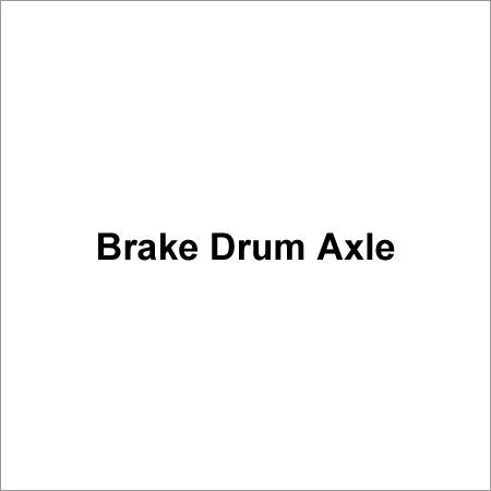 Brake Drum Axle