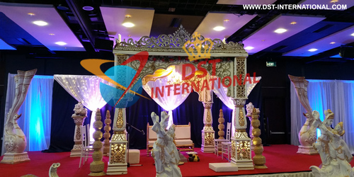 Traditional Radha Krishna Mandap