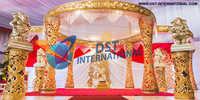 Ganesha Themed Wedding Mandap