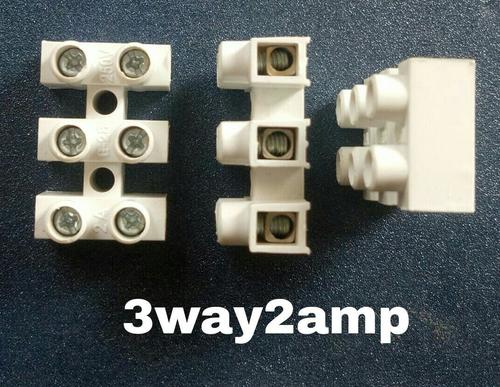 Connector 3 way 2 Amps