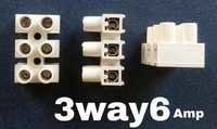 Wiring Connector 3 way 6 amps