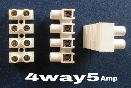 Connector 4 Way 5 Amps