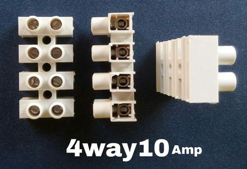 Connector 4 Way 10 Amps
