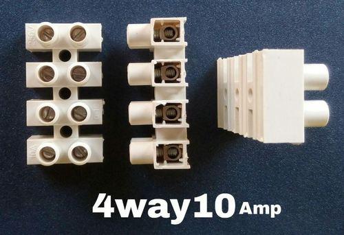 Connector 4 Way 10 Amps