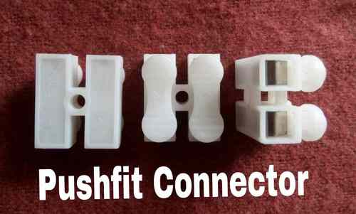Connector Push fit 2 way 6 Amps