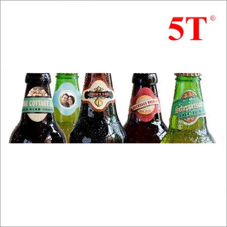 Beer Bottle Neck Wash Off Labels