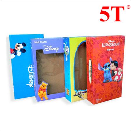 Customized Print Transparent Window Color Box