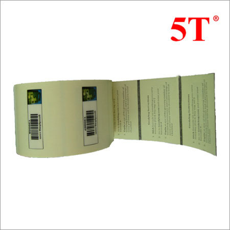 Customized Barcode and Colors Printed Labels